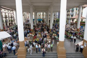 Mercado de Ordizia, Ordizia, Gipuzkoa, Pais Vasco, Spain
